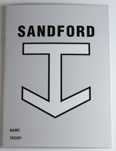 SANDFORD COURSE BOOK - RESTRICTED