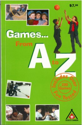 BOOK - GAMES FROM A TO Z
