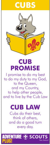BLANKET PATCH - CUB BOOKMARK - OLD LAW AND OLD PROMISE