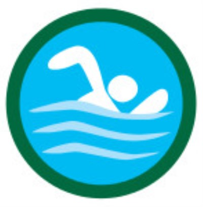 SCOUT BADGE - SWIMMING