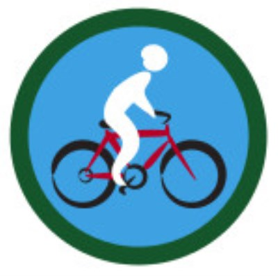 SCOUT BADGE - CYCLING