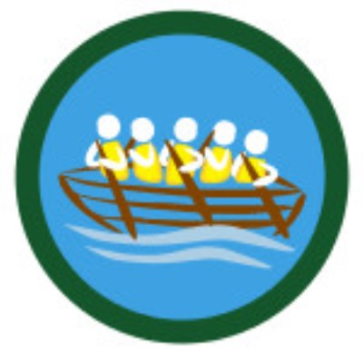 SCOUT BADGE - COXSWAIN