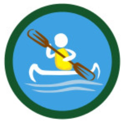 SCOUT BADGE - CANOEING
