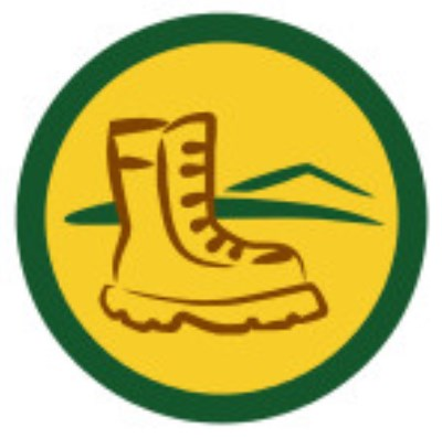 SCOUT BADGE - HIKING