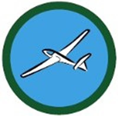 SCOUT BADGE - AIRCRAFT SPOTTING ONE