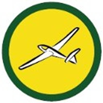 SCOUT BADGE - AIRCRAFT SPOTTING TWO