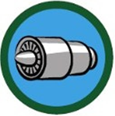SCOUT BADGE - AIRCRAFT TECHNICAL KNOWLEDGE ONE