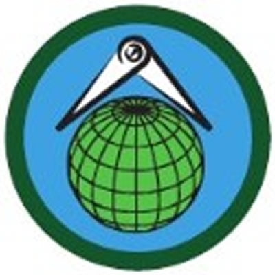 SCOUT BADGE - AIR NAVIGATION AND METEOROLOGY ONE