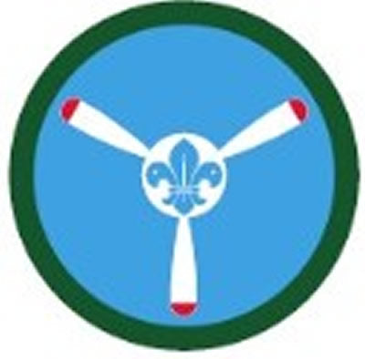 SCOUT BADGE - AIRCRAFTMAN BADGE