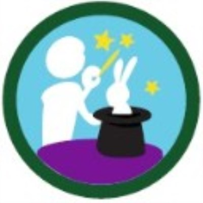 SCOUT BADGE - ENTERTAINING