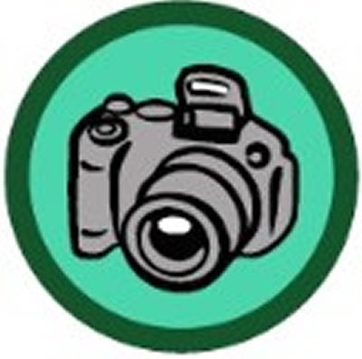 SCOUT BADGE - PHOTOGRAPHY