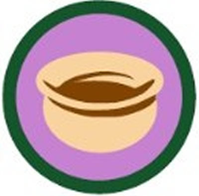 SCOUT BADGE - POTTERY