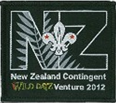 BLANKET PATCH - NEW ZEALAND CONTINGENT WILD DAYZ VENTURE 2012