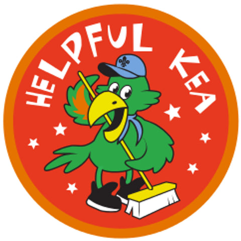KEA BADGE - HELPFUL KEA