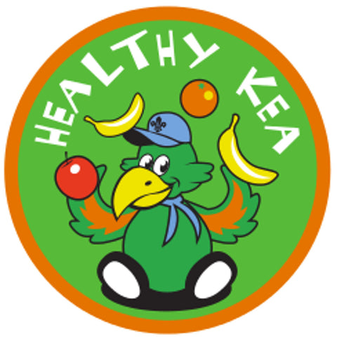 KEA BADGE - HEALTHY KEA