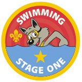 CUB BADGE - SWIMMING - STAGE ONE