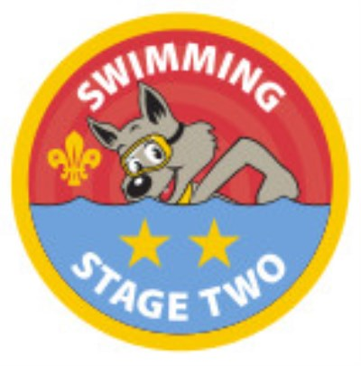 CUB BADGE - SWIMMING - STAGE TWO