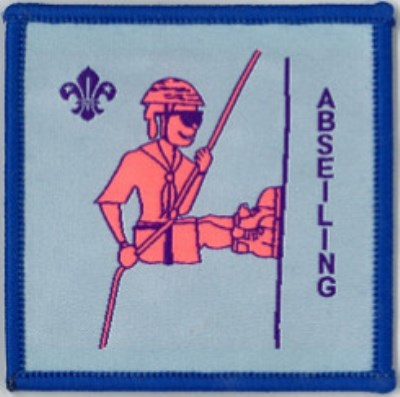 BLANKET PATCH - ABSEILING