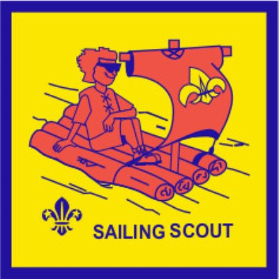 BLANKET PATCH - SAILING SCOUT, fluro