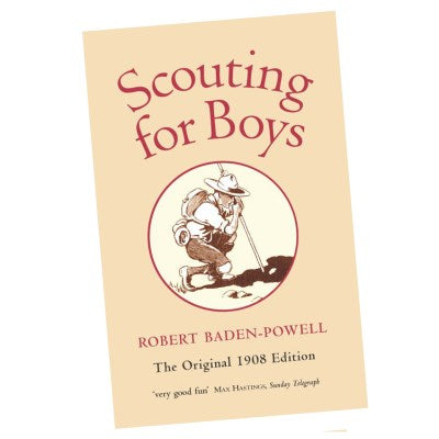 BOOK - SCOUTING FOR BOYS