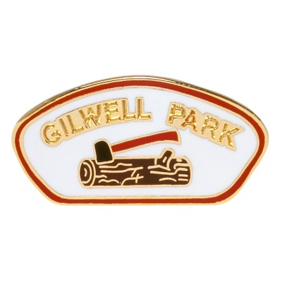 PIN - GILWELL PARK LOG AND AXE