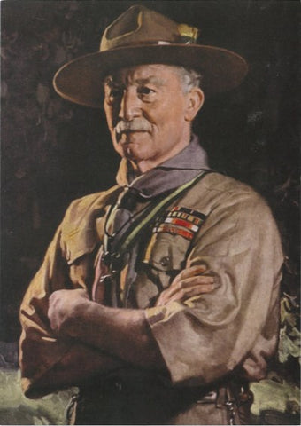 LORD BADEN-POWELL OF GILWELL POSTCARD