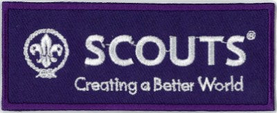 BLANKET PATCH - SCOUTS CREATING A BETTER WORLD