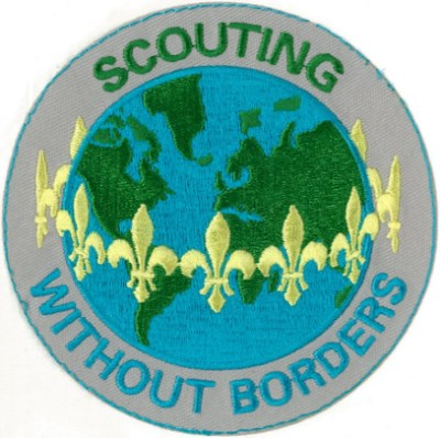 SCOUTING WITHOUT BORDERS BLANKET PATCH