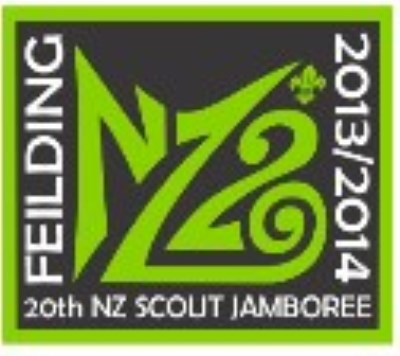 BLANKET PATCH - NZ20 FEILDING 20TH NZ SCOUT JAMBOREE 2013 / 2014