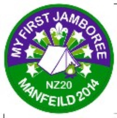 BLANKET PATCH - MY FIRST JAMBOREE NZ20 MANFEILD 2014