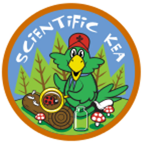 KEA BADGE - SCIENTIFIC KEA