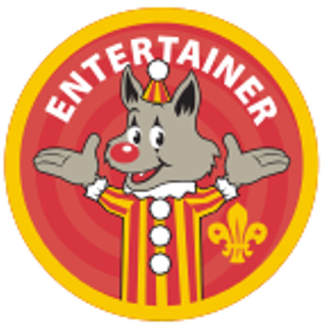 CUB BADGE - ENTERTAINER