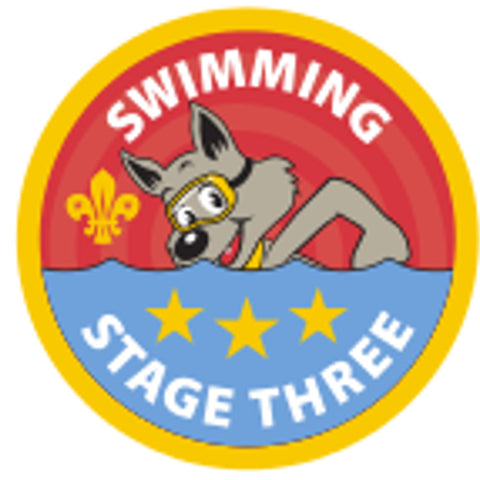 CUB BADGE - SWIMMING - STAGE THREE