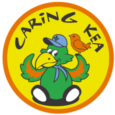 KEA BADGE - CARING KEA