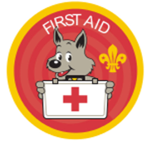 CUB BADGE - FIRST AID