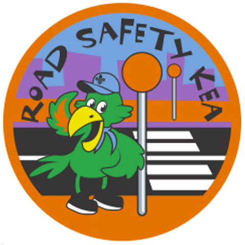 KEA BADGE - ROAD SAFETY KEA