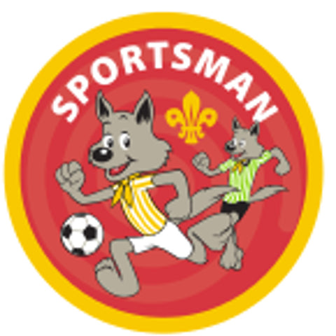 CUB BADGE - SPORTSMAN