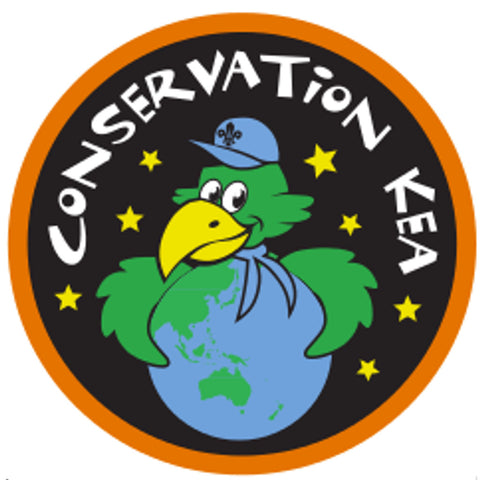 KEA BADGE - CONSERVATION KEA