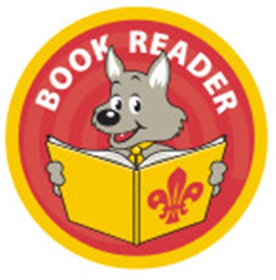 CUB BADGE - BOOK READER