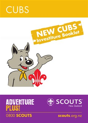 CUBS - NEW CUBS INVESTITURE BOOKLET