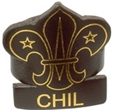 CUB LEADER LEATHER WOGGLE - CHIL