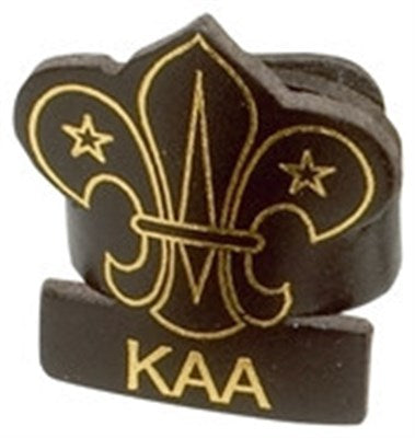 CUB LEADER LEATHER WOGGLE - KAA