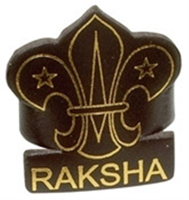 CUB LEADER LEATHER WOGGLE - RAKSHA