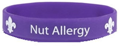 WRISTBAND - NUT ALLERGY