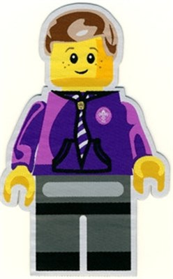 BLANKET PATCH - MINIFIG - BOY - 14CM