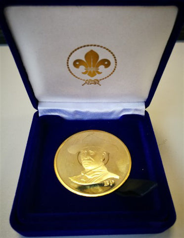 BADEN POWELL COLLECTORS COIN - LIMITED EDITION