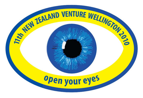 BLANKET PATCH - 11th NEW ZEALAND VENTURE WELLINGTON 2010 - OPEN YOUR EYES