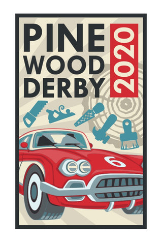 BLANKET PATCH - PINEWOOD DERBY 2020