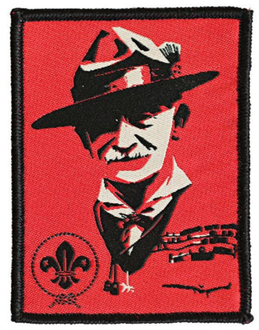 BLANKET PATCH - BADEN POWELL POP ART