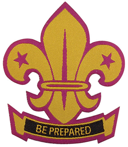 BLANKET PATCH - BE PREPARED FLEUR-DE-LIS, IRON-ON